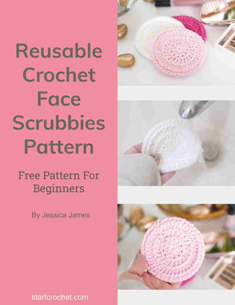 Crochet Face Scrubbies Free Pattern - Start Crochet