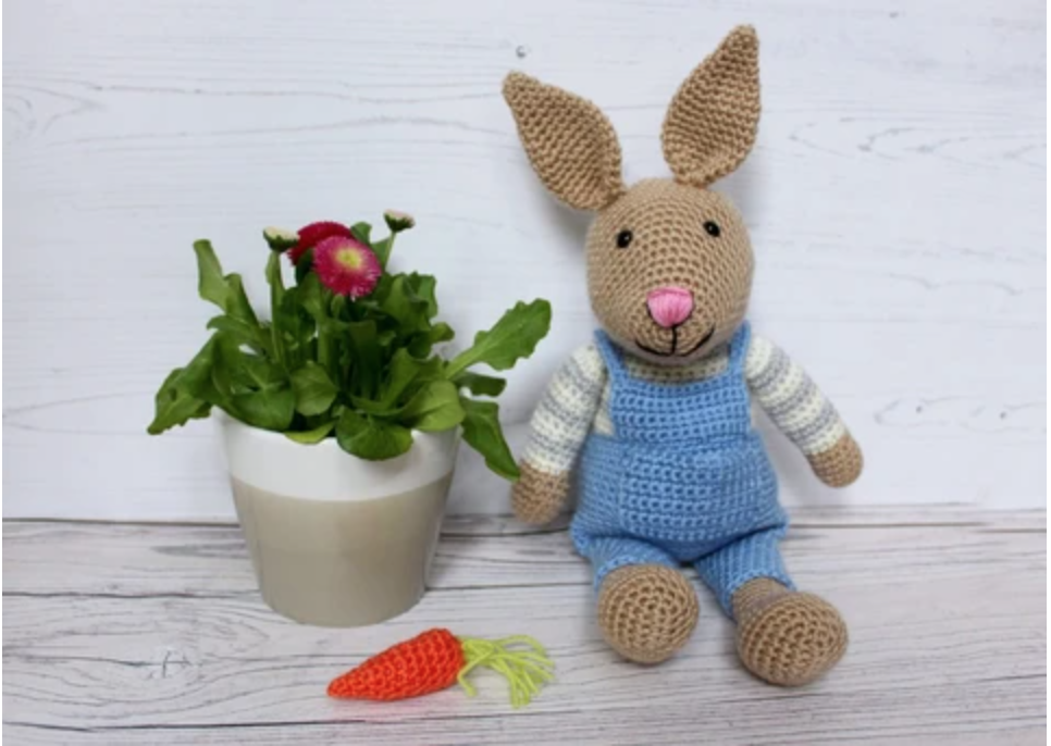 Bunny Rabbit Crochet Kit and Pattern - Start Crochet