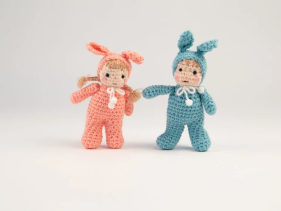 Easter Kids Crochet Kit and Pattern in Sirdar Yarn - Start Crochet