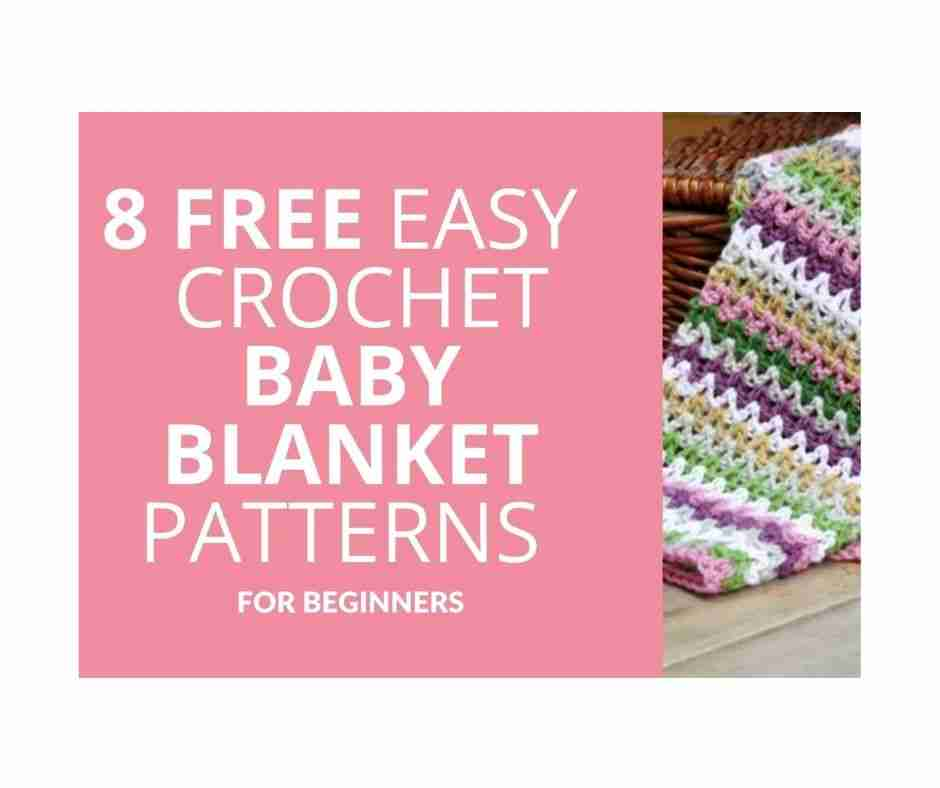 8 Free Easy Crochet Baby Blanket Patterns For Beginner Fb Post