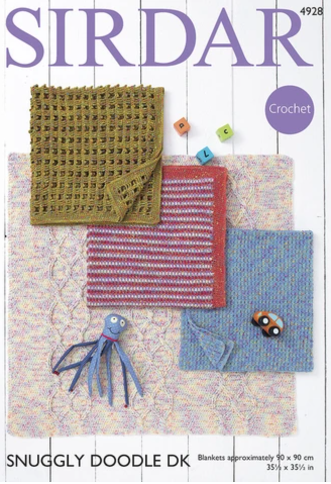 Children's Blankets Free Crochet Pattern in Sirdar Yarn - Start Crochet