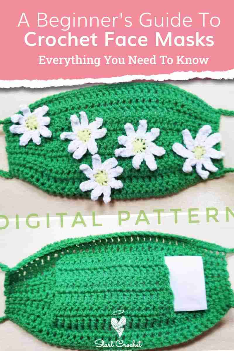 A Beginner's Guide To Crochet Face Masks Start Crochet (1)
