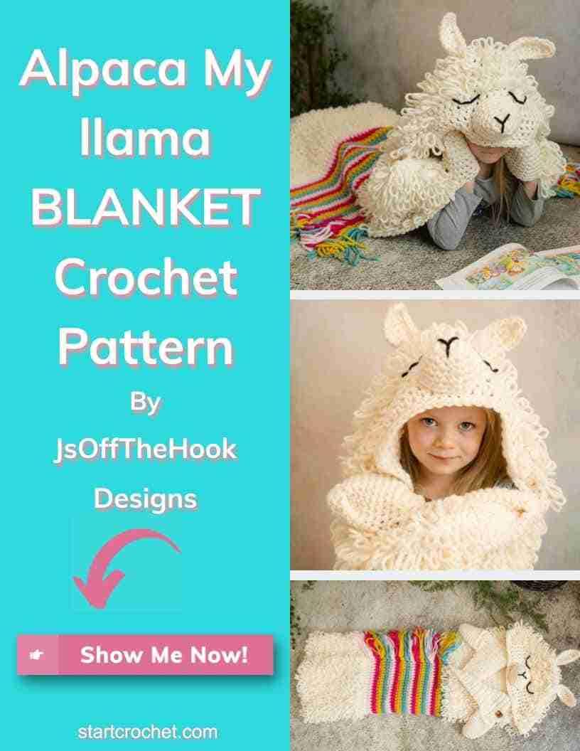 Alpaca My Llama Blanket Crochet Pattern By Jsoffthehook Designs Start Crochet (1)
