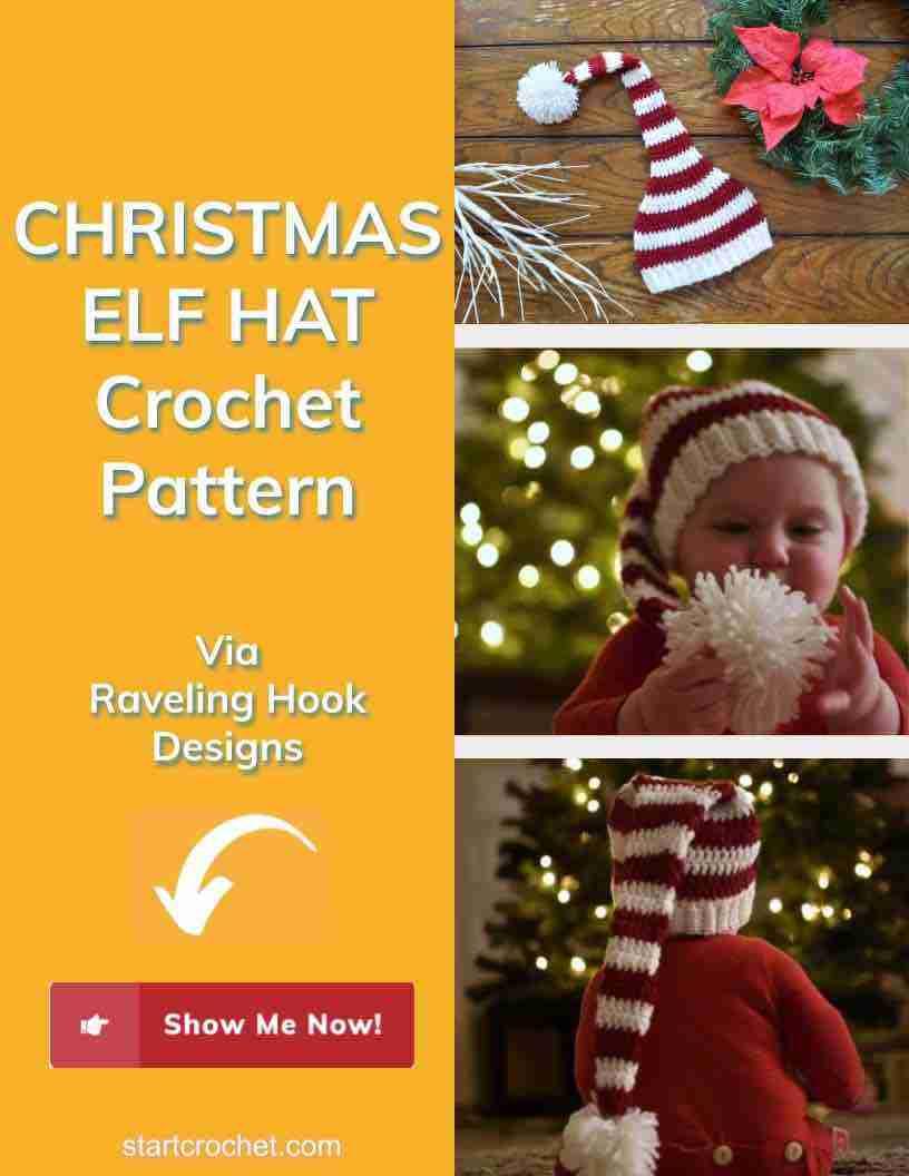 Christmas Elf Hat Crochet Pattern Start Crochet