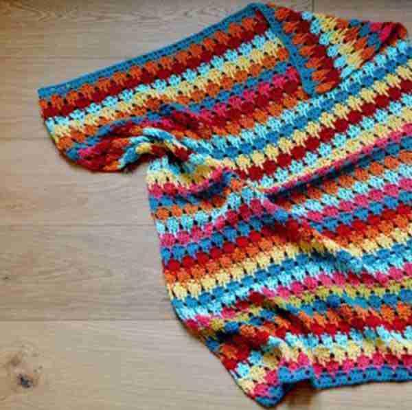Larksfoot Blanket Free Crochet Pattern In Stylecraft Yarn Start Crochet