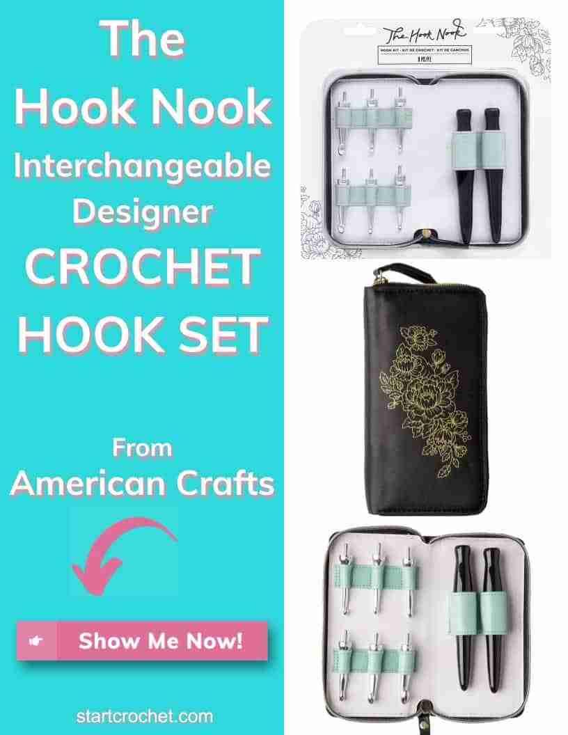 The Hook Nook Interchangeable Designer Crochet Hook Set American Crafts Start Crochet (1)
