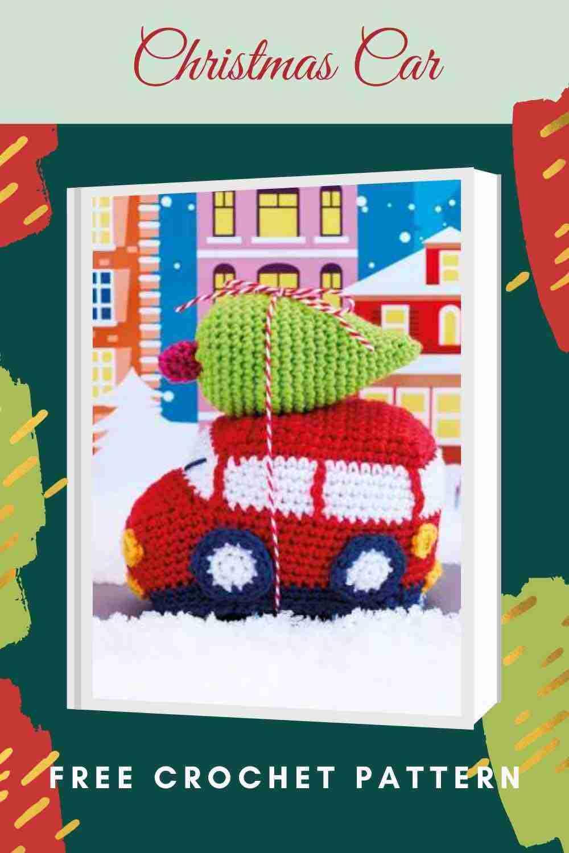 Christmas Car Free Crochet Pattern - Start Crochet