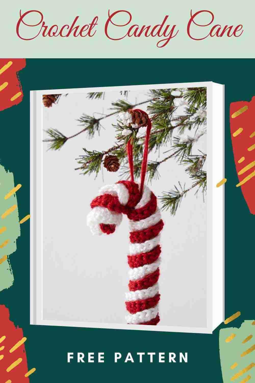 Crochet Christmas Candy Cane Pattern - Start Crochet
