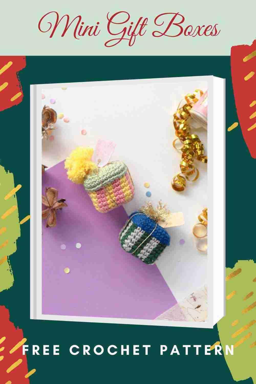 Mini Gift Boxes Free Crochet Pattern - Start Crochet