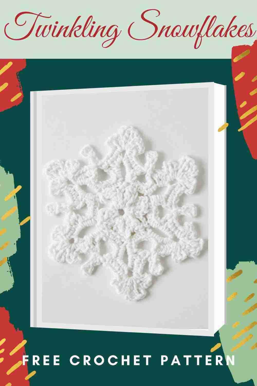 Twinkling Snowflakes Free Crochet Pattern - Start Crochet