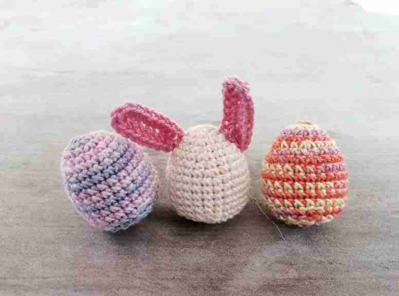 amigurumi easter egg bunny free crochet pattern