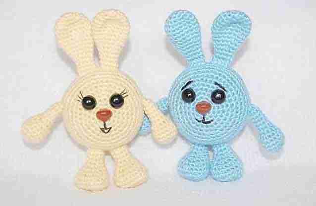 bunny easter free crochet pattern start crochet