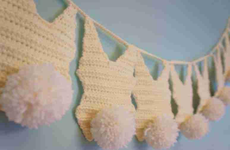 easter bunny garland free crochet pattern start crochet