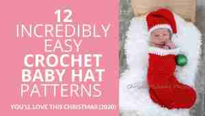 Easy Crochet Baby Hat Patterns Christmas - Start Crochet