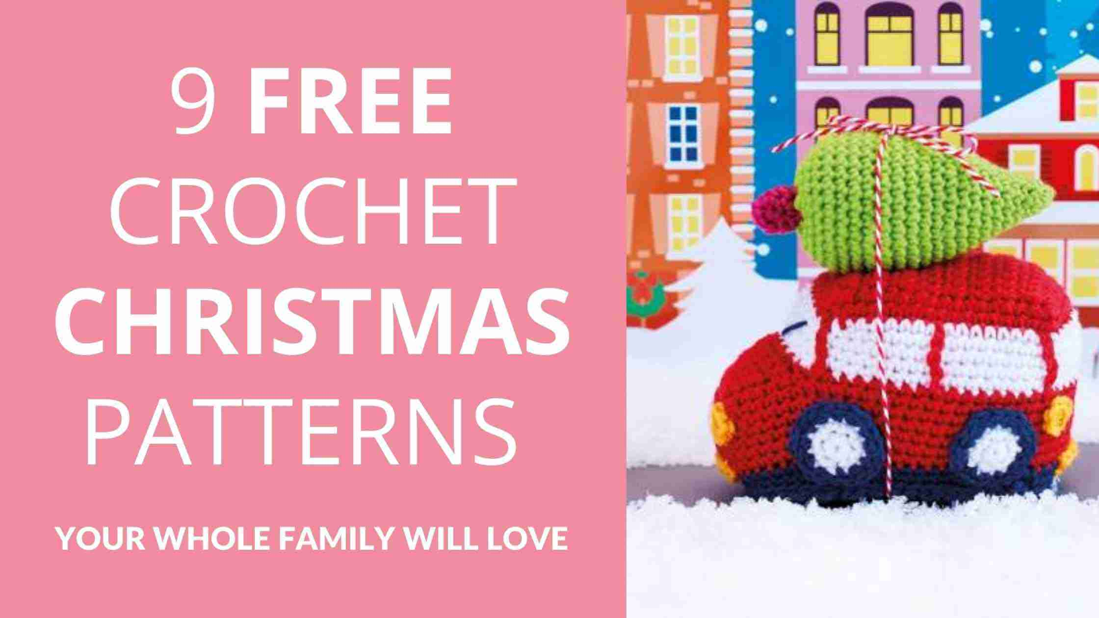 Free Crochet Christmas Patterns - Start Crochet