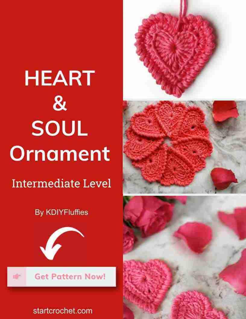 Heart & Soul Ornament Start Crochet