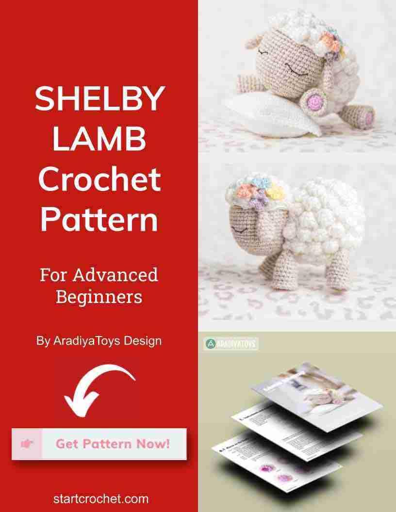 Shelby Lamb Crochet Pattern Start Crochet