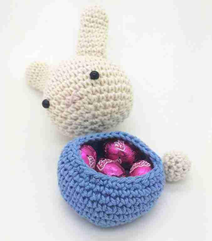 the easter bunny free crochet pattern open start crochet