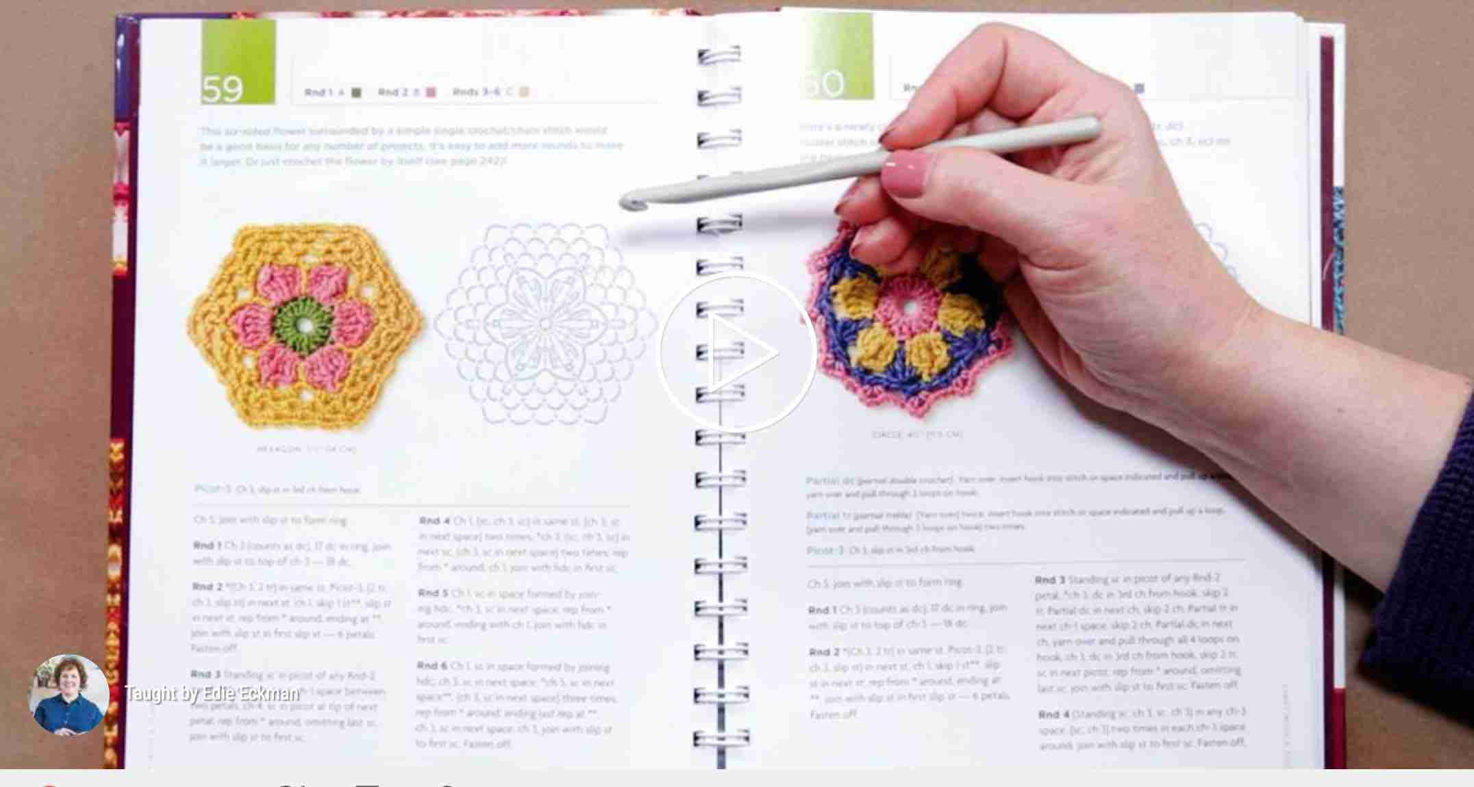 how to read a crochet pattern craftsy start crochet
