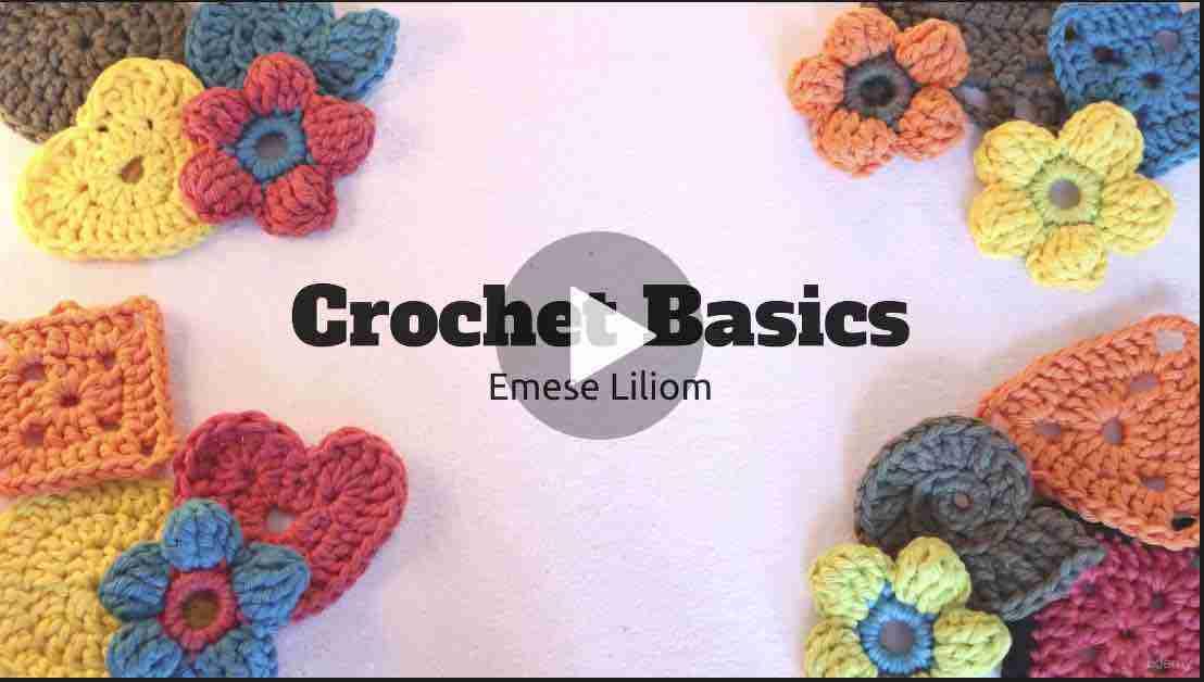 learn to crochet within a week udemy start crochet